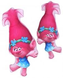 Polštářek Trollové Poppy 35 x 16 cm