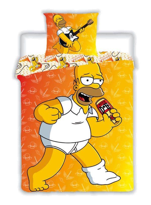 Povlečení Homer Simpson Yellow