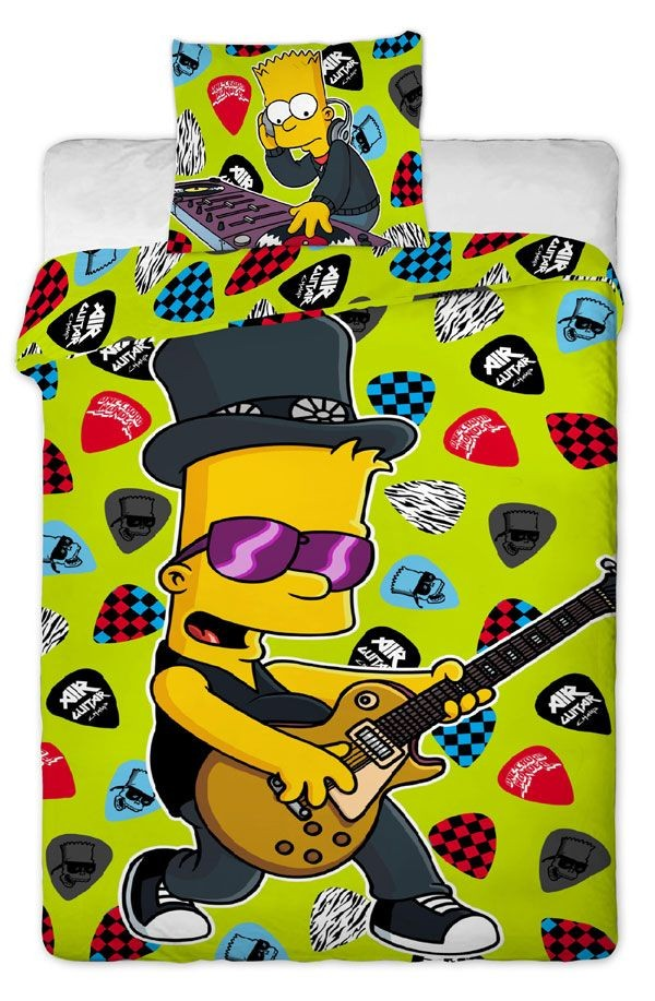 Povlečení Bart Simpson Music