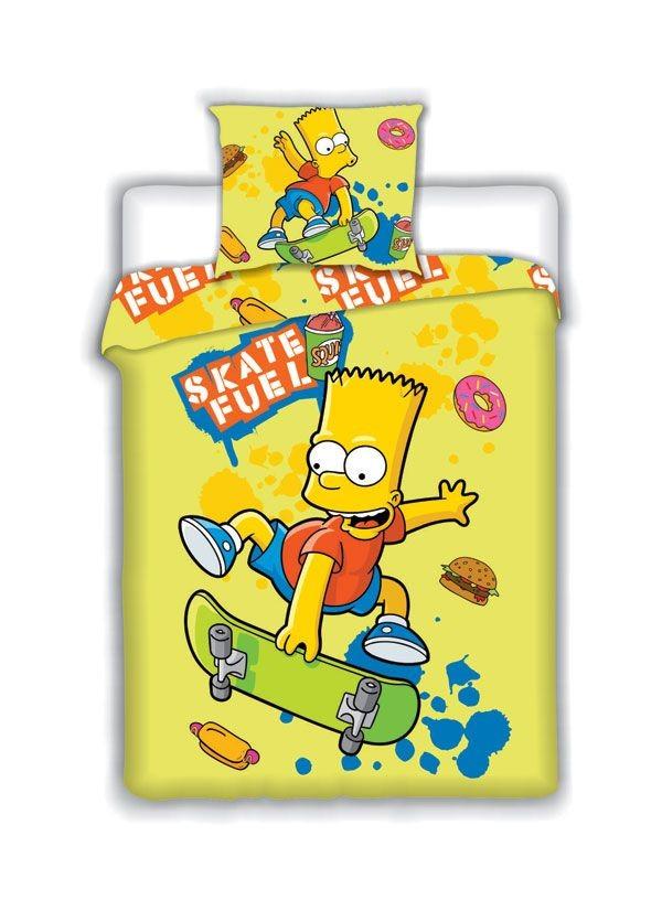Povlečení Bart Simpson Skate