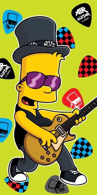 Osuška Bart Simpson Music