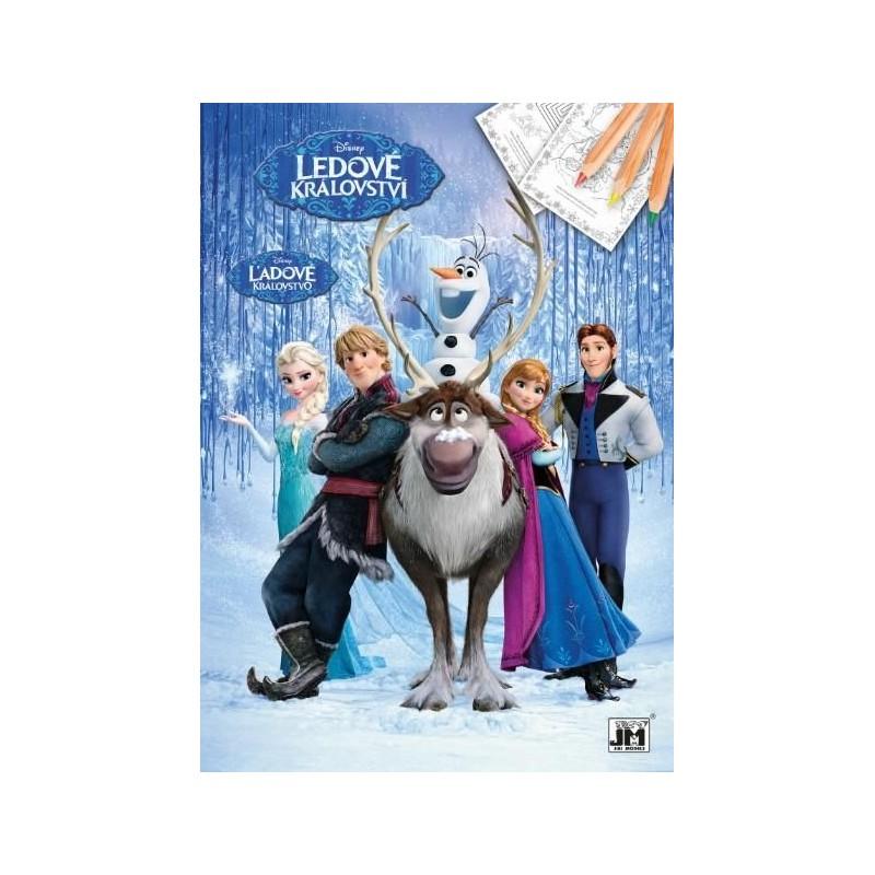 Omalovánka Frozen