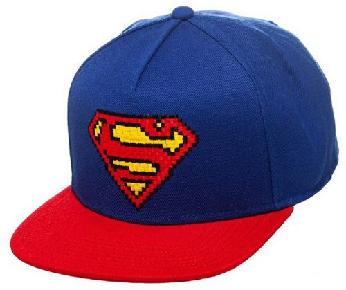 Čepice Baseballová Kšiltovka Rap Superman Modro-Červená 51028b0008