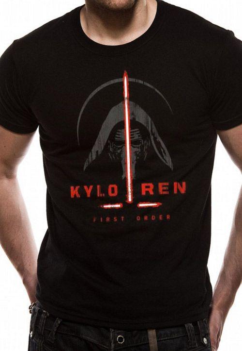 b3dd553d8ed Tričko Pánské Star Wars Kylo Rena Černé L