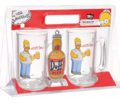 Korbel Pivní 2 X 330 Ml + Otvírák Simpsnovi / The Simpsons