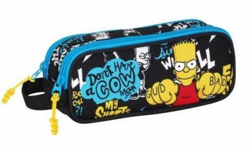 Penál Na Tužky Dvojdílný Bart Simpsnovi / The Simpsons
