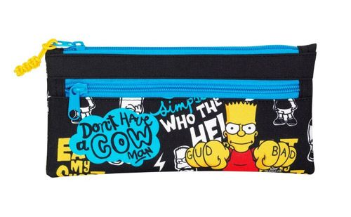 Penál Na Tužky Plochý Bart Simpsnovi / The Simpsons