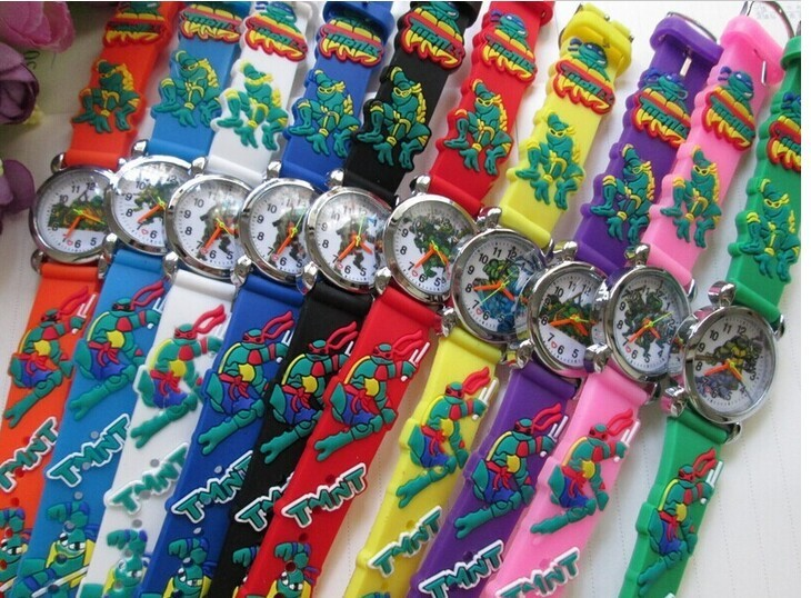 Dětské hodinky Želvy Ninja