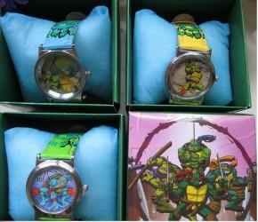 Hodinky v dárkovém balení Želvy Ninja