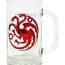SKLENICE / KORBEL HRA O TRŮNY / GAME OF THRONES FIRE AND BLOOD 400 ML