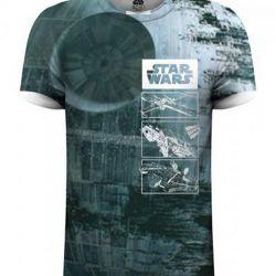 Tričko Pánské Star Wars Death Star L