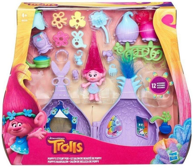 Domeček s výbavou Poppy Trollové / Trolls