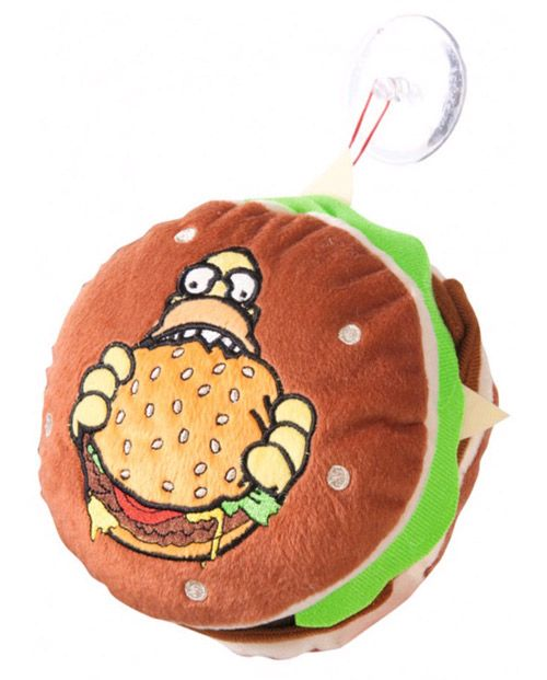 Polštářek Simpsnovi / The Simpsons Hamburger 18 Cm