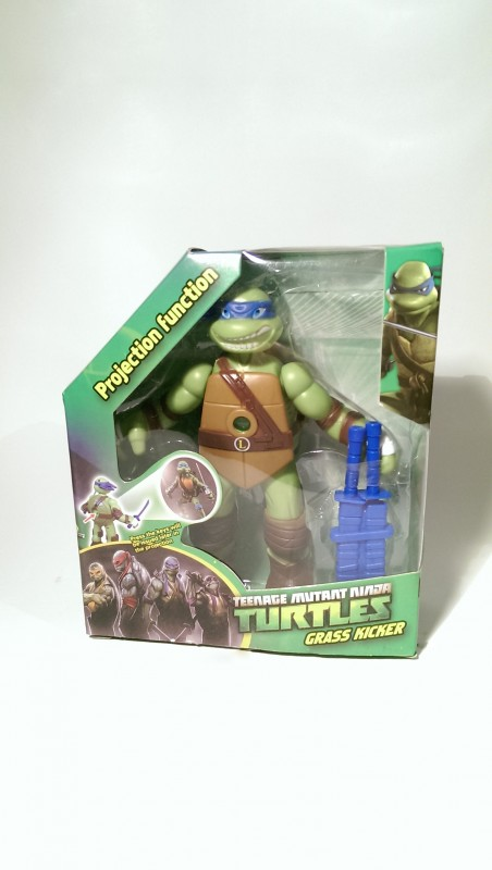 Akční Figurka Želvy Ninja S Projekcí Obrázku 15cm