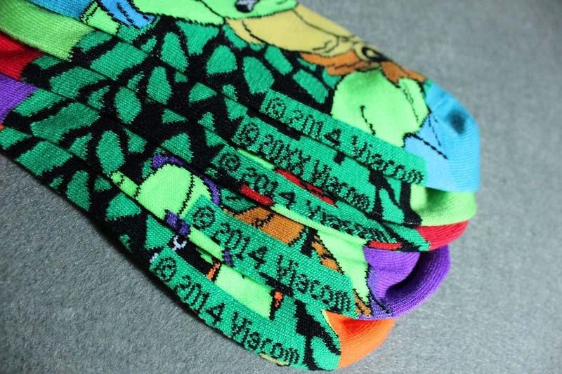 Pánské ponožky Želvy Ninja
