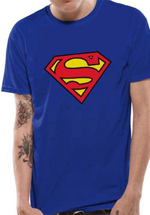 f20a261426dc Tričko Pánské Superman Modré M