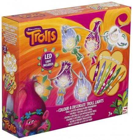 Svítící kreativní sada pro děti Trollové