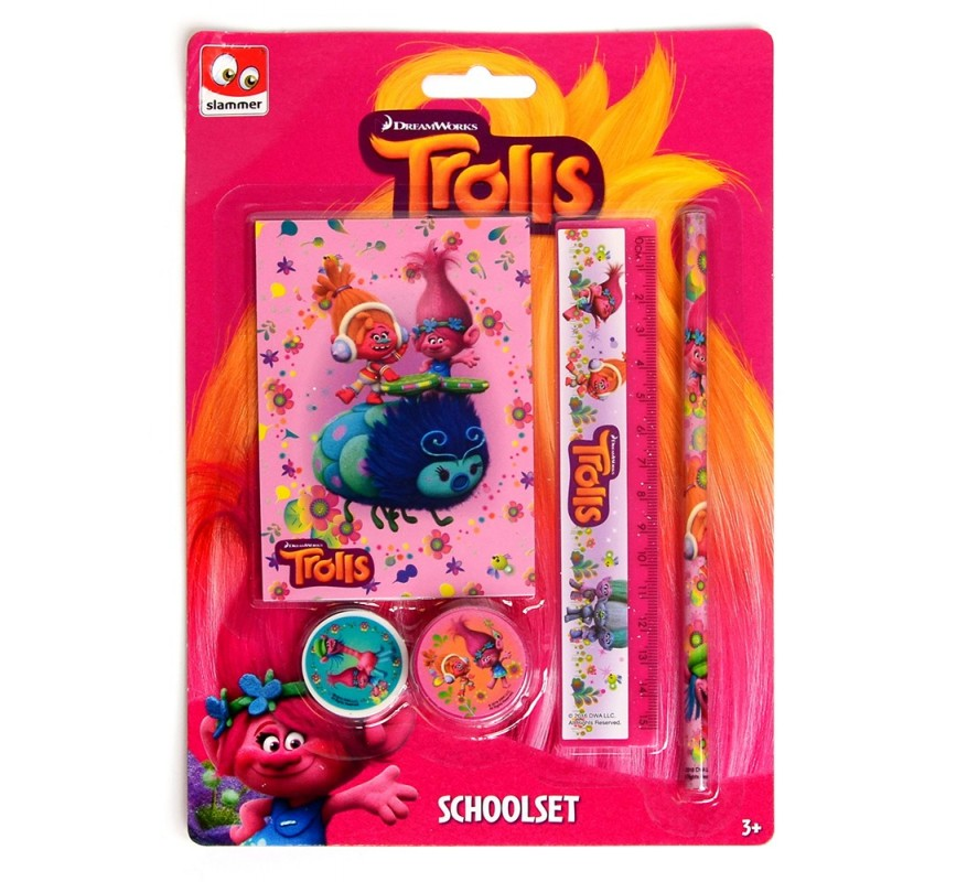 Sada školních potřeb Trollové