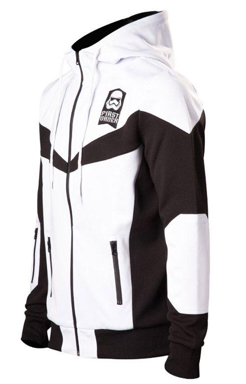 Mikina Pánská Star Wars Stormtrooper  Bílá L