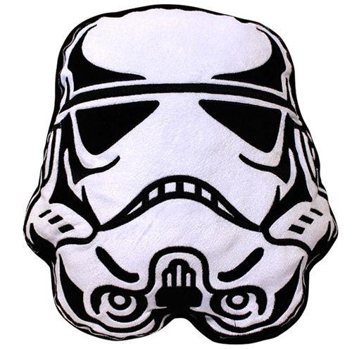 Polštář Star Wars 3D Stormtrooper 35 X 33 Cm Bílý