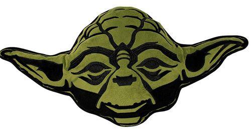 Polštář Star Wars 3D Yoda 35 X 33 Cm