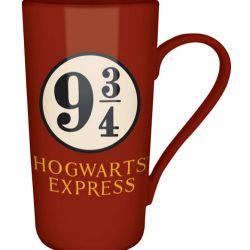 Hrnek Latte Harry Potter  9 A 3/4 Červený 400 ml