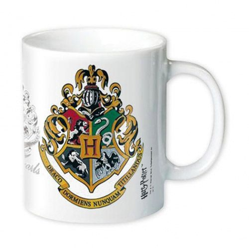 Hrnek Keramický Harry Potter 350 Ml Hogwarts Crest  Bílý