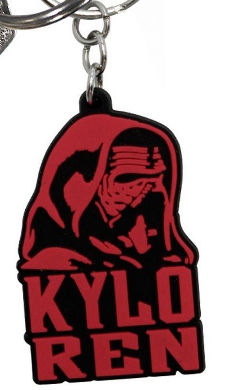 Přívěsek Na Klíče Star Wars 3D Kylo Ren 3,3 X 4,8 Cm  Pvc
