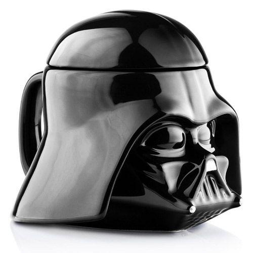 Hrnek Keramický Star Wars Darth Vader / 350 Ml / 3D / Černý
