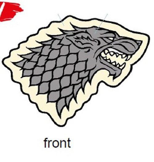 Polštář Hra O Trůny / Game Of Thrones Stark 35 X 33 Cm