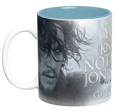 Hrnek Velký Hra O Trůny / Game Of Thrones 460 Ml You Know Nothing Jon Snow