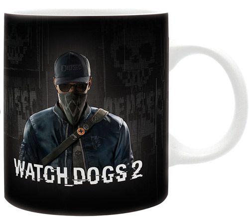Hrnek Keramický Watch Dogs 2 Marcus 320 Ml Bílý