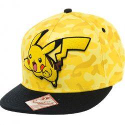 Baseballová Kšiltovka Pokémon  Rap Pikachu Camo Žlutá 58