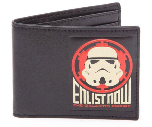 Peněženka Otevírací Star Wars Galactic Empire  Černá