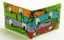 Dětská peněženka Želvy Ninja Eyes