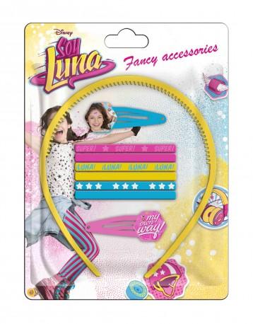 Vlasové doplňky Soy Luna Yellow