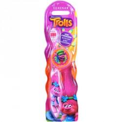 Zubní kartáček Trollové Pink