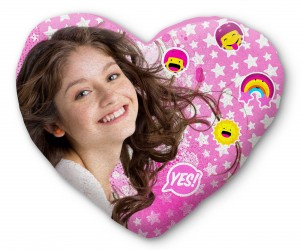 Polštář pro holky Soy Luna Heart