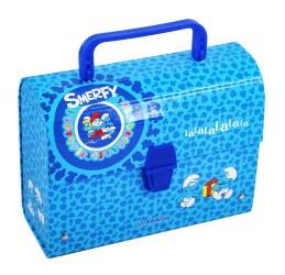 Kufřík Šmoulové Blue