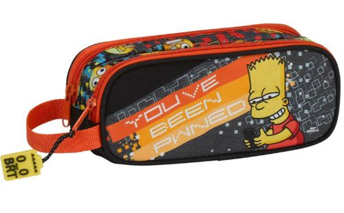 Penál Na Tužky Simpsnovi / The Simpsons Bart Dvoudílný
