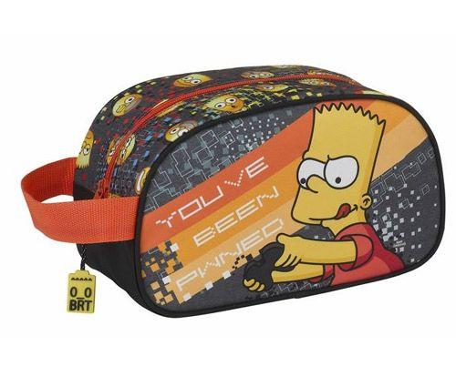 Taška Malá Necesér Simpsnovi / The Simpsons Bart Šedý 26 Cm