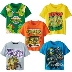 Dětské triko s krátkým rukávem Želvy Ninja