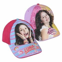 Kšiltovka pro holky Soy Luna Růžová / Fialová 55cm