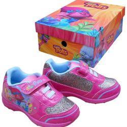 Sportovní boty / tenisky Trollové / Trolls Poppy růžové vel. 25