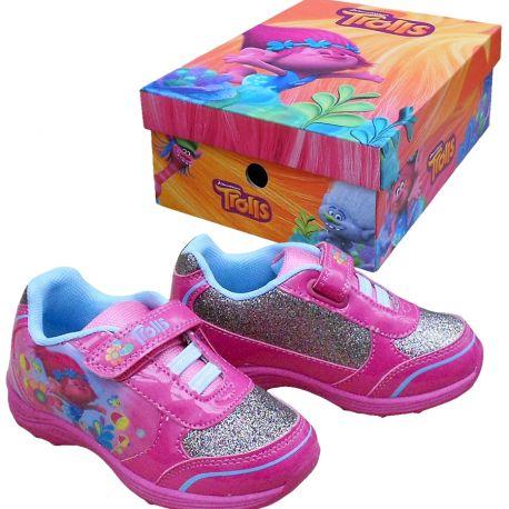 Sportovní boty / tenisky Trollové / Trolls Poppy růžové vel. 30