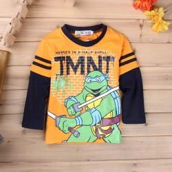 Chlapecké Tričko S Dlouhým Rukávem Želvy Ninja