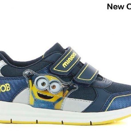 Sportovní boty / tenisky Mimoni Bob tm. modré vel. 28