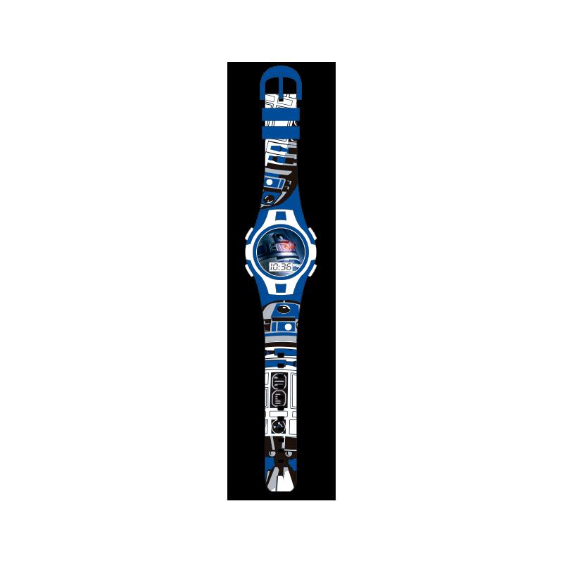 Digitální hodinky Star Wars Modré