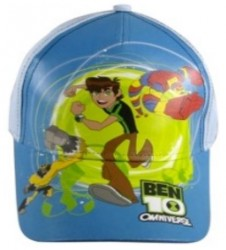 Letní chlapecká kšiltovka Modrá Ben 10