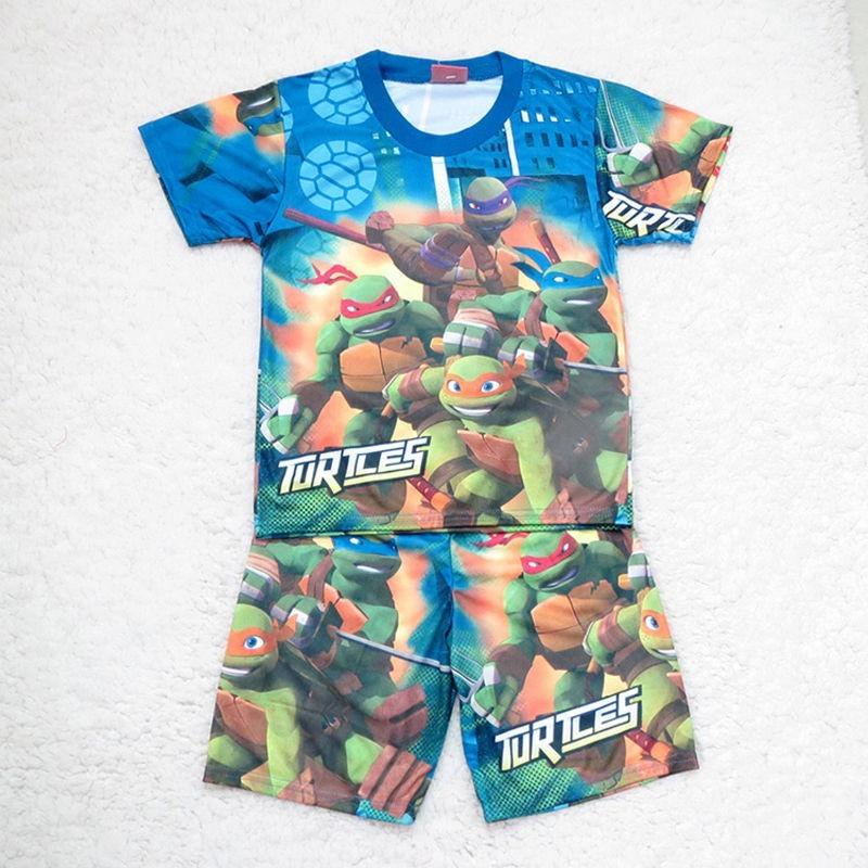 Dětské triko + kraťasy Želvy Ninja